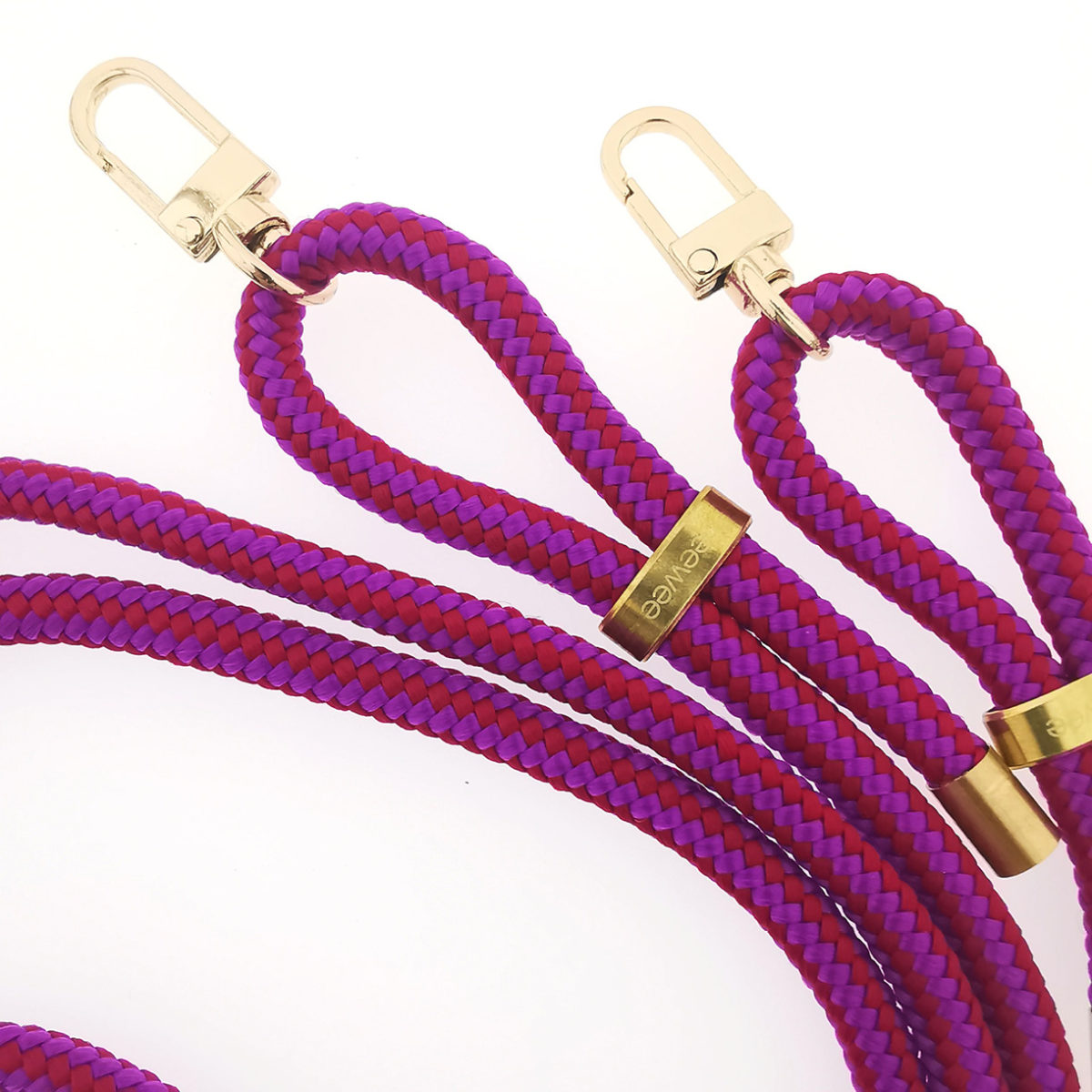 keeweestyle handykette wechselband berry snap gold2